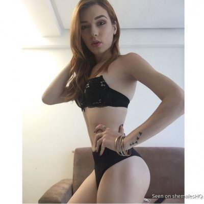 Bruna Mendes is a SUPER cute shemale with a PERFECT slender body