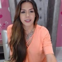 Gorgeous young teen shemale cutie showing off on cam