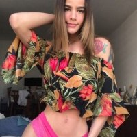 TS Bruna Barbie gorgeous teen playing with her dick